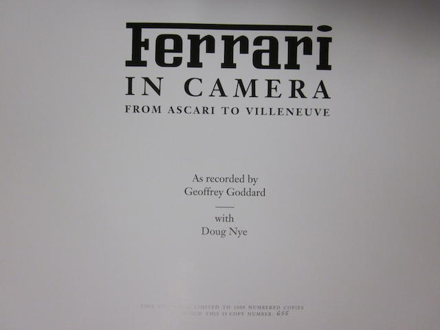Geoffrey Goddard & Doug Nye: Ferrari in Camera;
