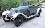 Originally supplied to HRH The Prince of Wales,1923 Rolls-Royce 20hp Cabriolet  Chassis no. GA 14 Engine no. G562
