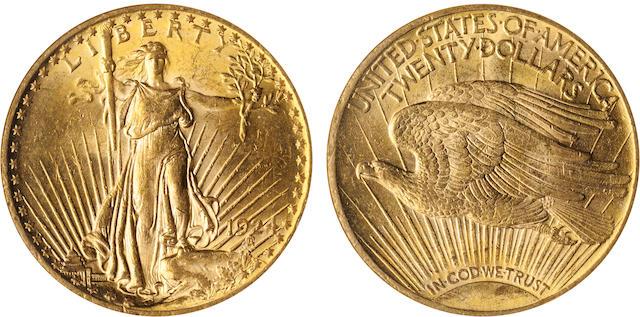 1924 $20 MS61 NGC
