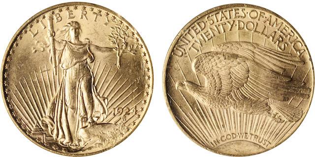 1924 $20 MS62 ANACS