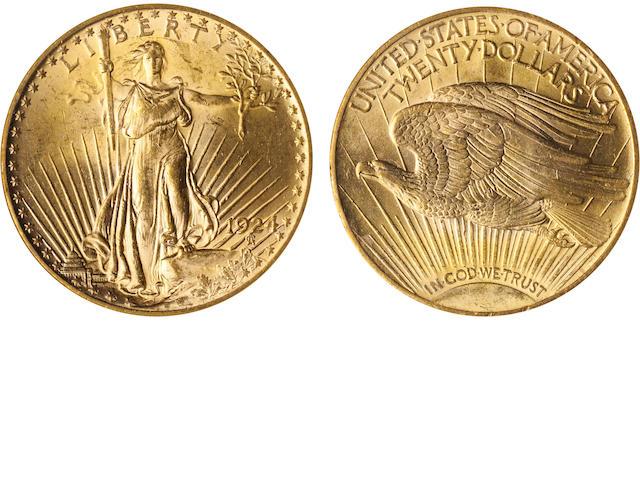 1924 $20 MS62 ANA