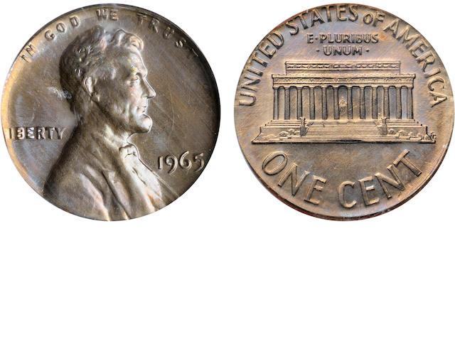 1965 1C MS63 Error PCGS