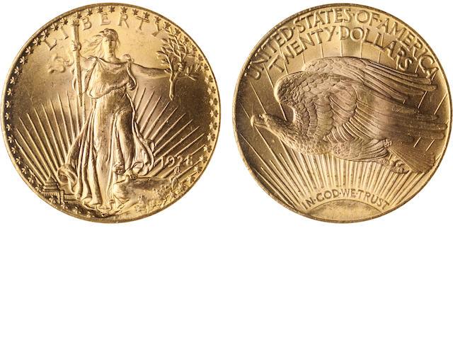 1928 $20 MS64 NGC