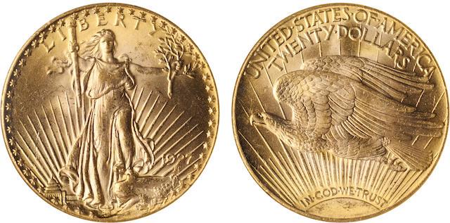1927 $20 MS64 NGC