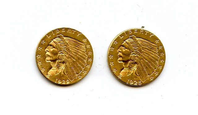 1925-D, 1929 $2.5