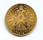 Austria, Gold 100 Corona 1915 (Restrike)