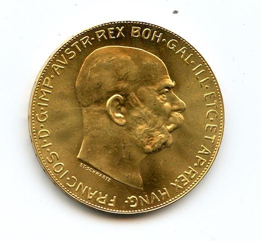 Austria, 1915 100 Coronas
