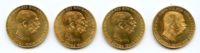 Austria, Gold 100 Coronas 1915 (Restrikes) (4)