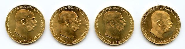 Austria, 1915 100 Coronas (4)