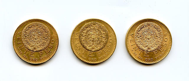 Mexico, 20 Pesos 1918, 1959 (2)