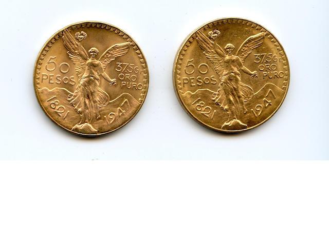 Mexico, 50 Pesos, 1947 (2)
