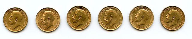 South Africa, George V, Sovereigns, 1925-SA (6)