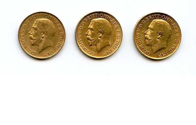 South Africa, George V, Sovereigns, 1926-SA (3)