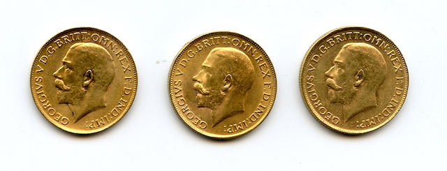 South Africa, George V, Sovereigns, 1927-SA (3)