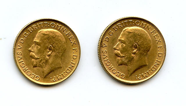 South Africa, George V, Sovereigns, 1928-SA (2)