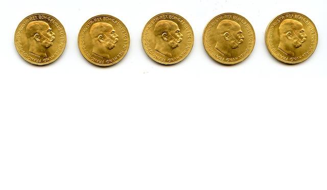 Austria, 1915 20 Coronas (5)