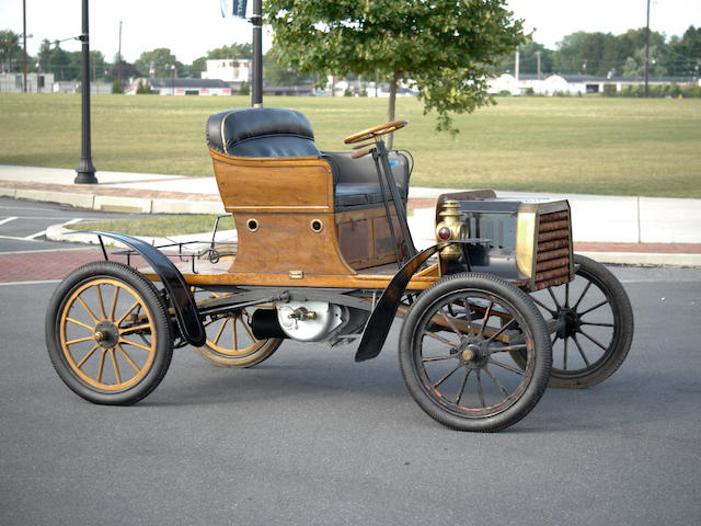 c.1904 Buckmobile 15hp Twin Cylinder Two Seater  Chassis no. 244