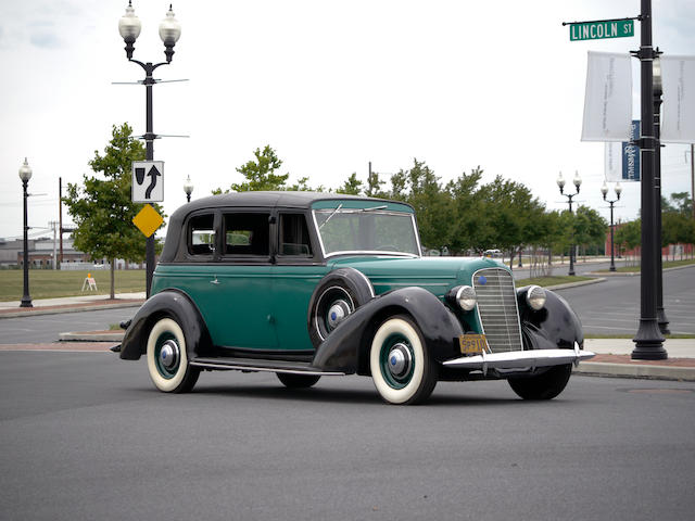 1936 Lincoln Model K Sedan  Chassis no. K-5820 Engine no. K70I3