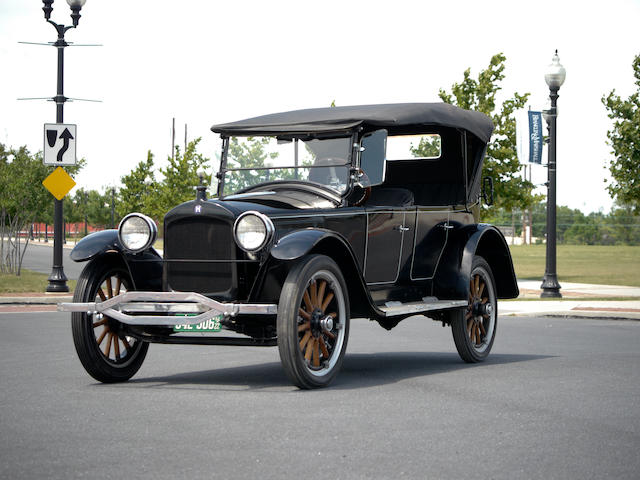 1922 Hupmobile Model R Five Passenger Tourer  Engine no. R-72709