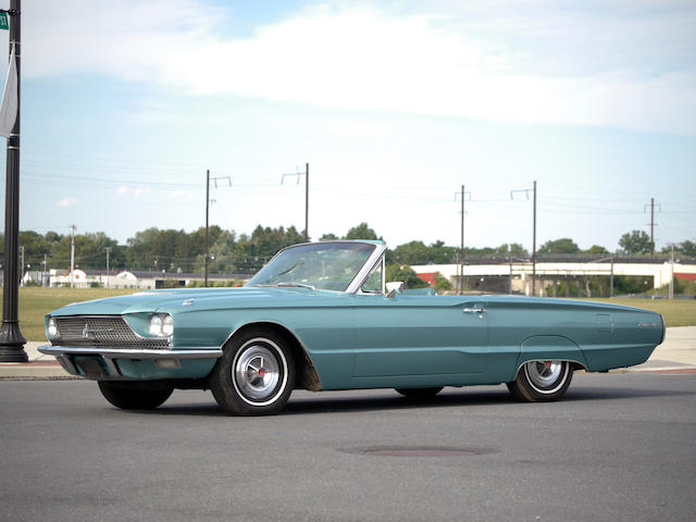 1966 Ford Thunderbird Convertible  Chassis no. 6Y85Q115522