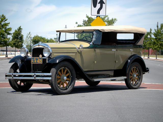 1929 Essex Tourer  Chassis no. 1126406