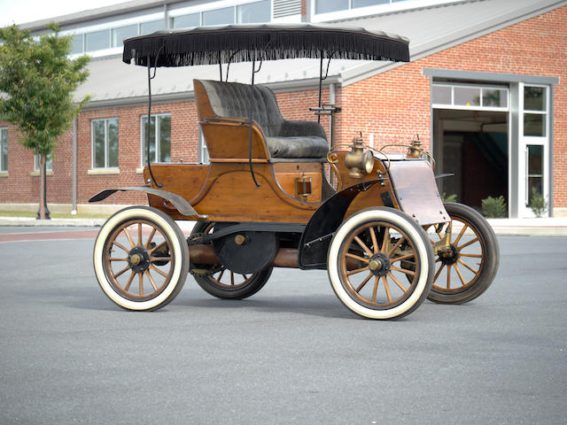 1903 Knox Model C Runabout  Engine no. 177