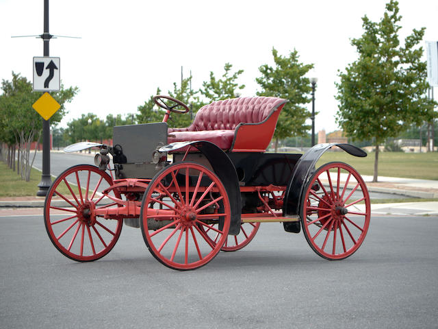1910 McIntyre Model B-1 Runabout  Engine no. B589