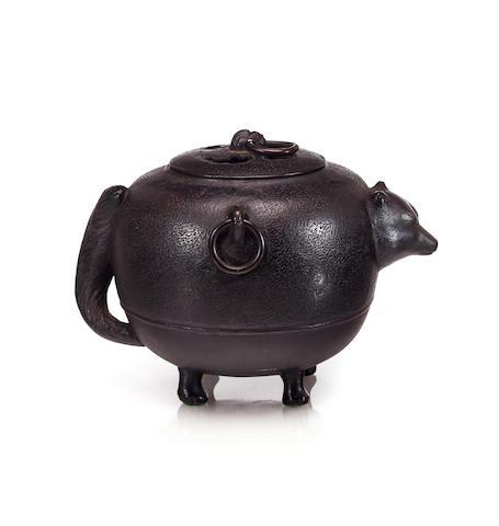 Badger teakettle koro