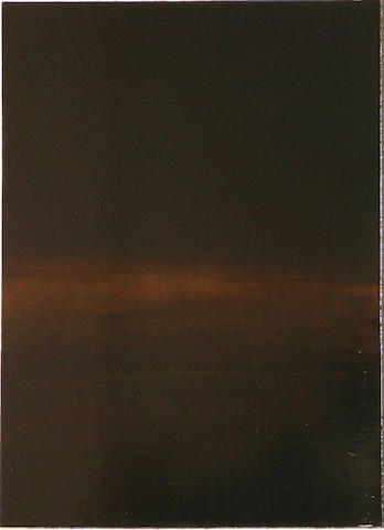 Sara Carter (American, 20th/21st Century) Camden Night III, 1996 33 x 30in
