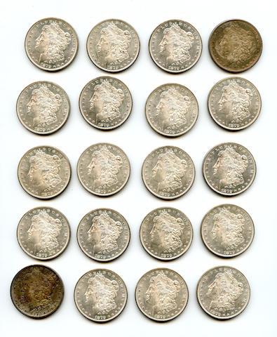 1879-S $1 (20)