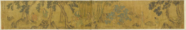 After Zhao Yong (1289-after 1360)  Scholar's Gathering, 19th century