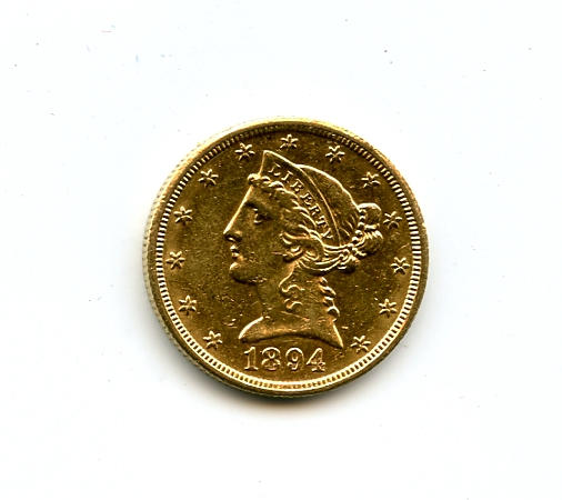 1894-O $5