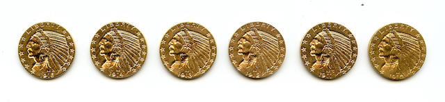 Indian Head $5 (6)