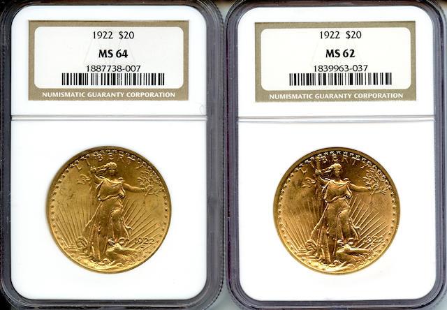 1922 $20 NGC (2)