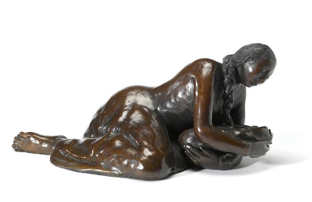 A R.C. Gorman bronze