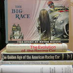 A nice collection of racing titles,
