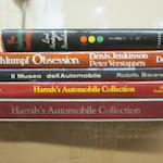 A group of titles on famous automobile collections,