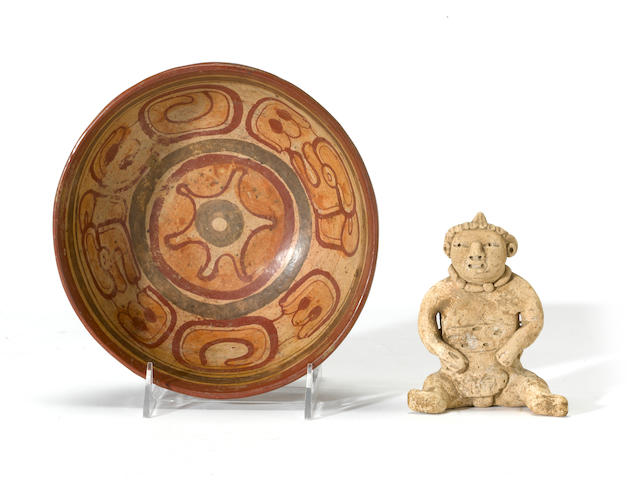 Two Mayan items