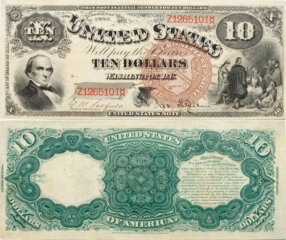 Fr. 100, Series 1880 $10 Legal Tender Note