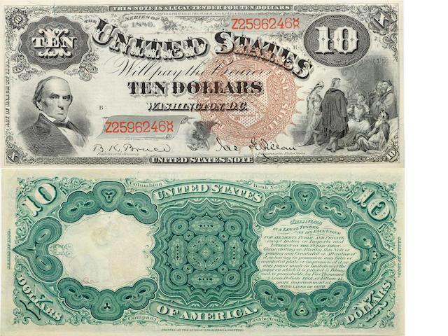 1880 $10 Fr.101