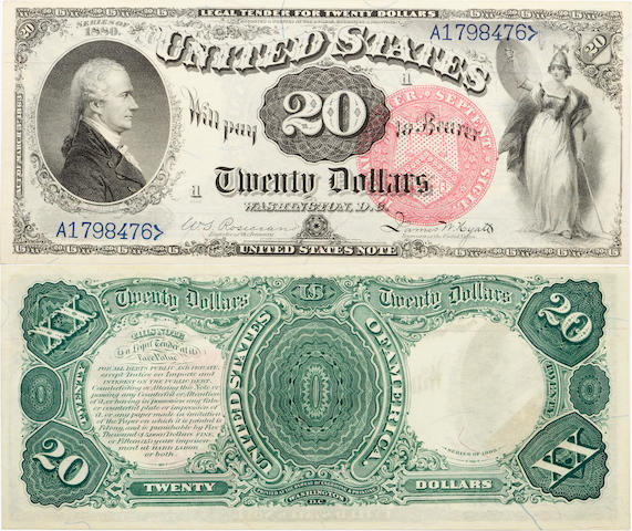 1880 $20 Fr.135