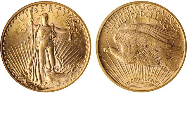 1923 $20 MS64 NGC