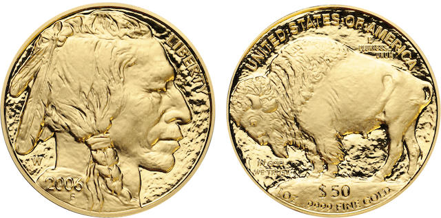 2006-W $50 American Buffalo .9999 Fine Gold