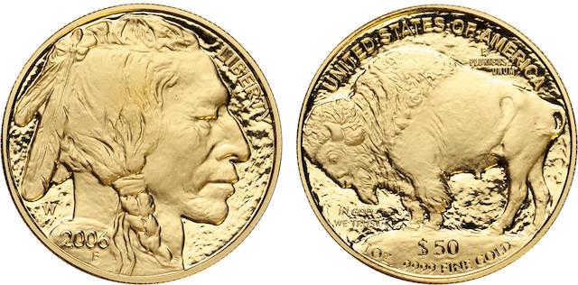 2006-W $50 American Buffalo .9999 Fine Gold, DC