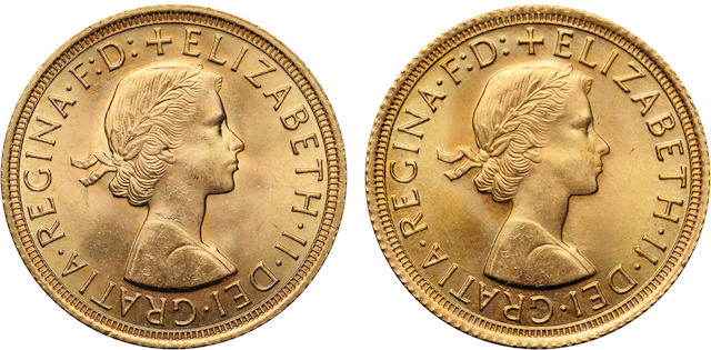 Great Britain, Elizabeth II, Sovereign, 1962, 1966