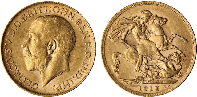 Australia, George V, Sovereign, 1912-P