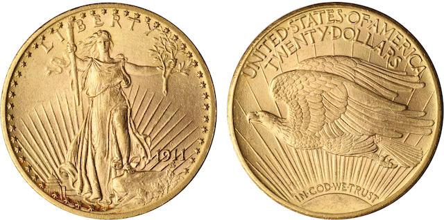 1911-D $20