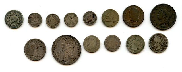 Miscellaneous Type Coins (14)