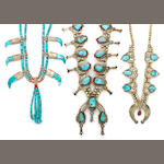 Three Navajo necklaces