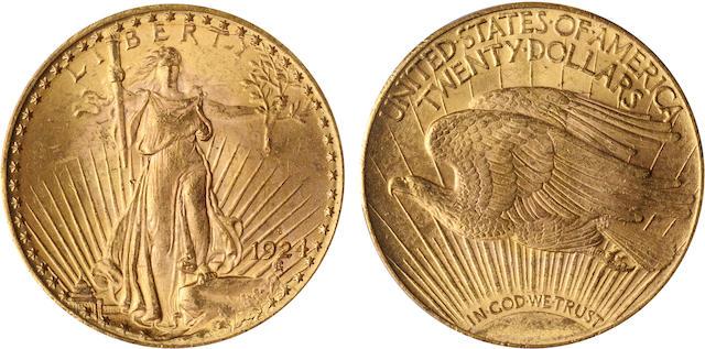 1924-S $20 MS64 PCGS